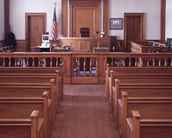 Personal Injury Lawyer Cleveland, Ohio Court Room Image - Robert J. Garrity, Attorney at Law